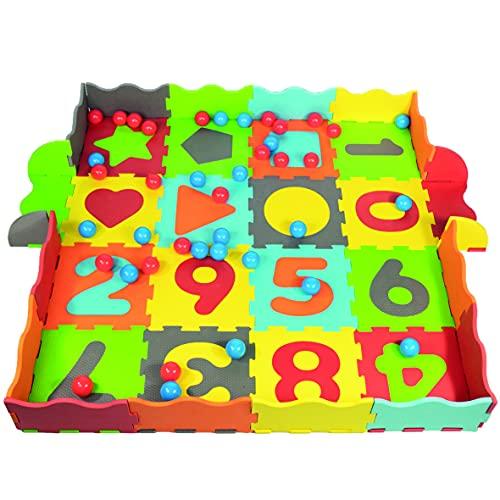 Spielmatte Puzzlematte Bällebad Kinder Kinderteppich Spielteppich Schaumstoff