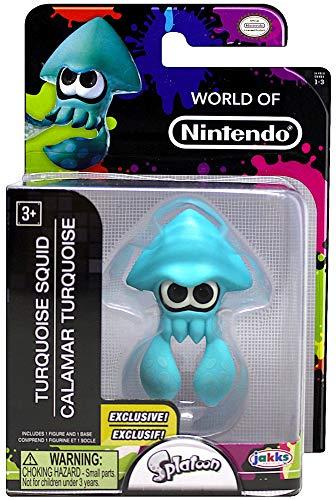 Splatoon Turquoise Squid 2.5' Action Figure