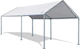 Quictent 10X20'ft Upgraded Heavy Duty Carport Car Canopy Party Tent with 3..