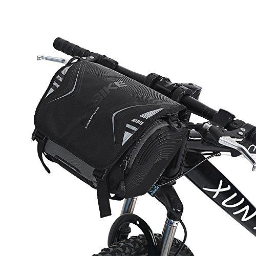 Dioche Lenkertasche, Lenkertaschen für Fahrrad Fronttasche Bike Motorrad Lenkerhalterung Halter Wasserdicht Single Shoulder Bag Schultertasche Case