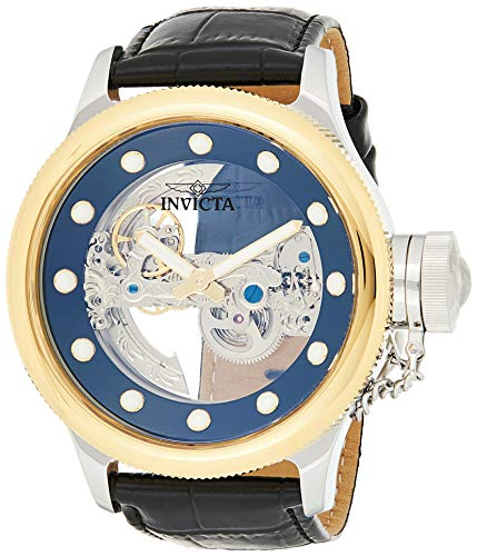 Invicta 24594 Russian Diver Herren Uhr Edelstahl Automatik schwarzen Zifferblat