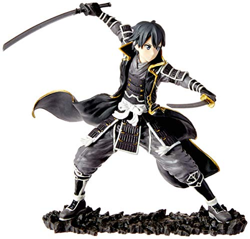 Action figure sword art online - gokai kirito bandai banpresto multicor