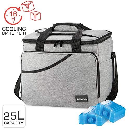 bomoe cool bag opvouwbare IceBreezer KT39 - koelbox voor onderweg - 39x28x29 cm - 25 liter - Ook te gebruiken als picknicktas - Perfect voor barbecue of festival