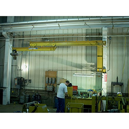 For Sale! Contrx Wall-Mount Full Cantilever Telescoping Jib Crane, 11' 10-3/4 to 16' Span, 2000 Lb....