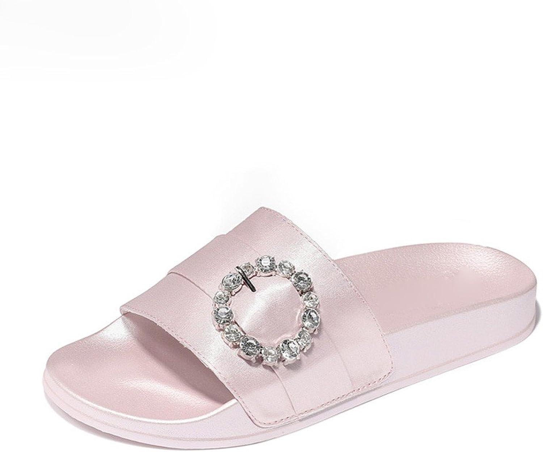 Vory Frauen Hausschuhe Sommer Hausschuhe Sandalen Flachen Flachen Boden Offenen Zehen Sandalen  niedriger Preis von 40%