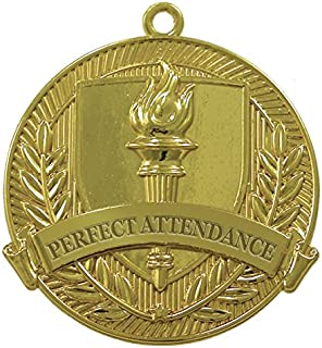 Perfect Attendance Gold Medal (Set of 50)