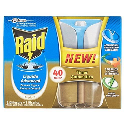 Raid Liquido Base, Advanced - 33 ml