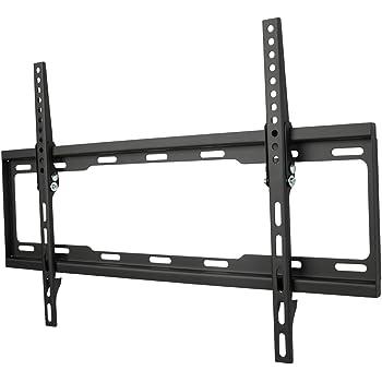 """One For All WM2621, Soporte de pared para TV de 32 a 84"""" Inclinable 15° Peso máx. 80kg, Para todo tipo de TVs LED, LCD, Plasma, negro"""