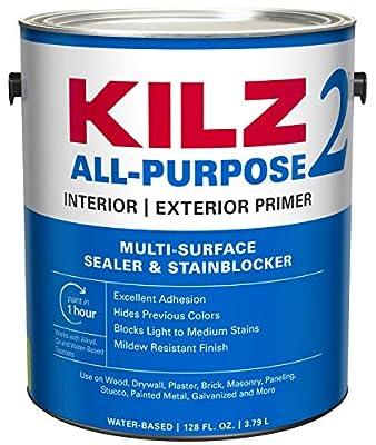 KILZ 2 Multi-Surface Stain Blocking Interior/Exterior Latex Primer/Sealer
