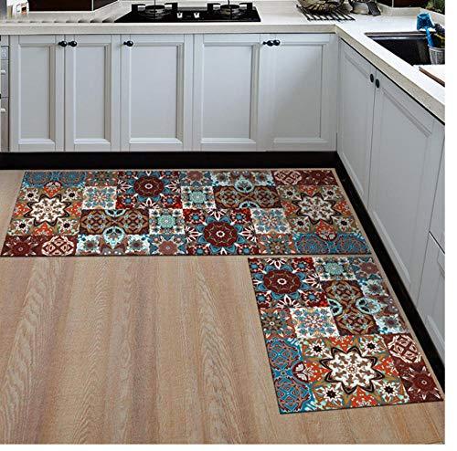 Pastoral Kitchen Beside Mat Home Entrance/Hallway Doormat Anti-Slip Bathroom Carpet Balcony/Wardrobe Area Rug