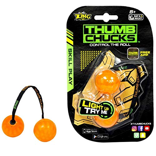 Thumb Chucks- Orange