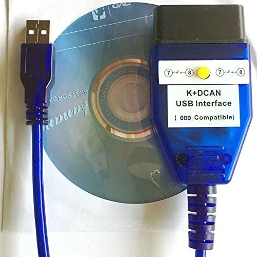 Inpa Kdcan OBD, Diagnosekabel Ediabas-Expert, Rheingold, OBDII-Diagnose, NCS-Codierung, Winkfp Auto-Programmierung, neues Schaltdesign für Inpa KDcan
