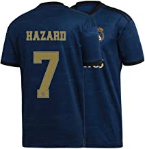 Mens Hazard Jersey 2019-2020 Real Madrid 7 Adult Soccer Away Eden