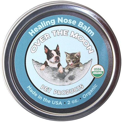 Over The Moon Pets Organic Dog Nose Balm- Unscented, Repairs Cracking,...