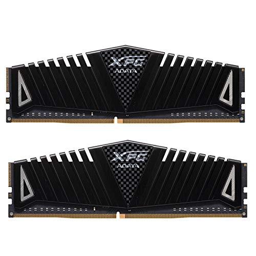 XPG Z1 DDR4 3000MHz (PC4 24000) 16GB (2x8GB) 288-Pin Memory Modules, Black (AX4U300038G16A-DBZ)