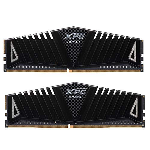 XPG Z1 DDR4 3000MHz (PC4 24000) 16GB (2x8GB) 288-Pin Memory Modules, Black (AX4U300038G16A-DBZ)