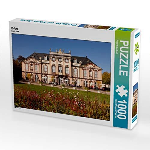 CALVENDO Puzzle Erfurt 1000 Teile Lege-Größe 64 x 48 cm Foto-Puzzle Bild von Peter Schickert