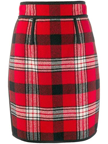 Luxury Fashion | Dsquared2 Dames S75MA0666S52054001F Rood Wol Rokken | Herfst-winter 19