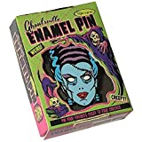 Retro Nightmare Bride of Frankenstein Ghoulsville Collectible Enamel Pin