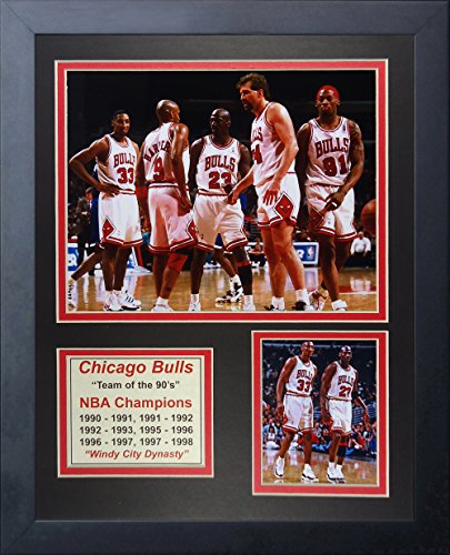 Michael Jordan Chicago Bulls NBA Framed 8x10 Photograph Air Dunking