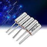 Oscillatore Quarzo di Cristallo, Oscillatore a cristallo al quarzo 50 pezzi 10 Valori 32,768 KHz -24 MHz Oscillatore in cristallo al quarzo fai da te Set di kit assortiti