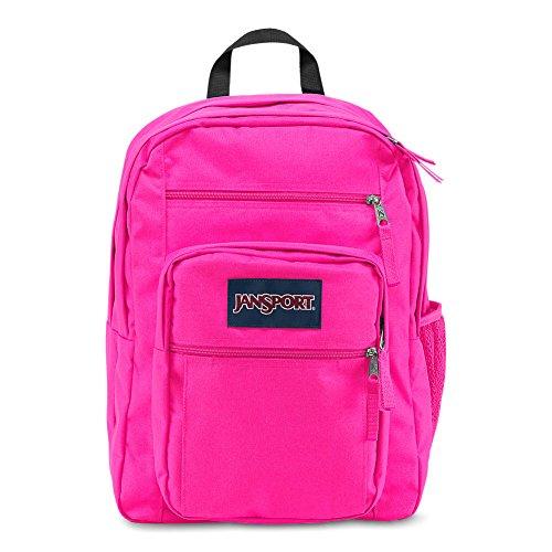 JanSport Big Student Backpack - Ultra Pink - Oversized