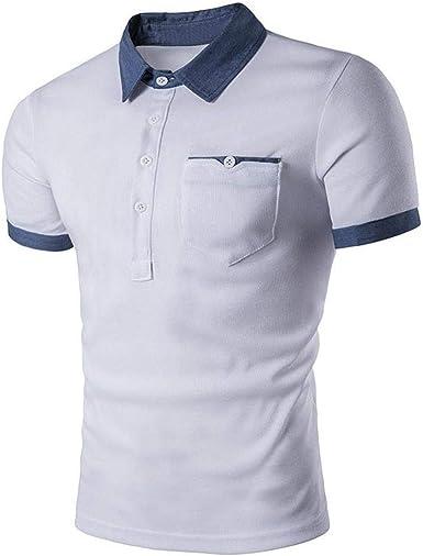 Camisa De Polo De Hombres Los De Camisa Simple Estilo Polo De ...
