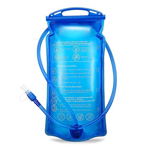 Portable 2 liter water hydration bag authorized FDA, tadellos de burb en Espacios Exteriores