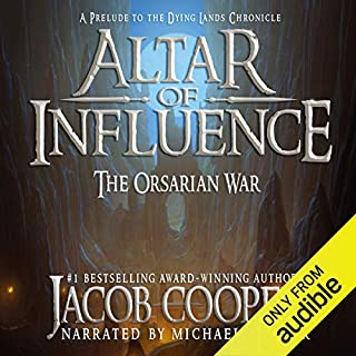 Altar of Influence: The Orsarian War audiobook cover art