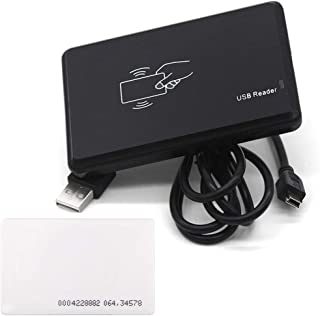 UHPPOTE 13.56Mhz RFID IC Card Reader Writer 14443A Card Encoder with Card USB Interface