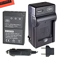 BM Premium BLS-1 BLS-5 Battery and Battery Charger for Olympus E-P3, E-PM1, E-PL1, E-PL2, E-PL3, E-PL5, E-PL7, OM-D, E-M10, Stylus 1 Digital Camera