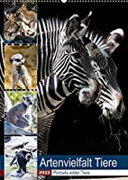 Artenvielfalt Tiere (Wandkalender 2022 DIN A2 hoch): Portraits wilder Tiere (Planer, 14 Seiten )
