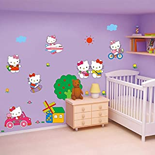 ca55a3469 linshel New Cute Children Baby Wall Stickers Girls Children Room  Decorations Bedroom Warm Bedside Wall Decal