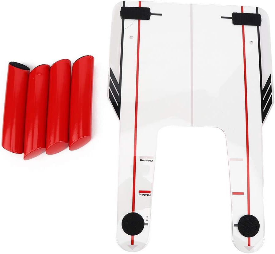 DDGD 4 Speeds half Rods Bargain sale Golfs Trainer Trap Base Swing Training Mirror