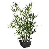 Bambou artificiel avec pot hauteur 70 cm