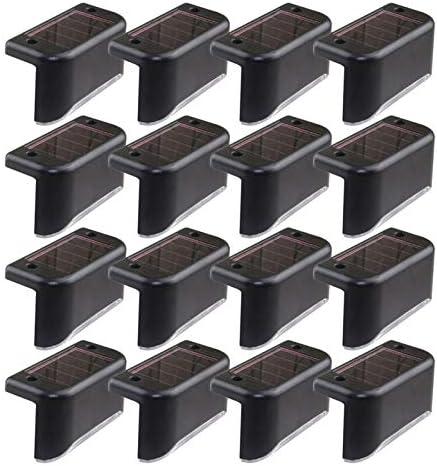 Solar deck lights 16 Pcs Solar Powered step Lights LED Waterproof Lighting forOutdoor Patio product image