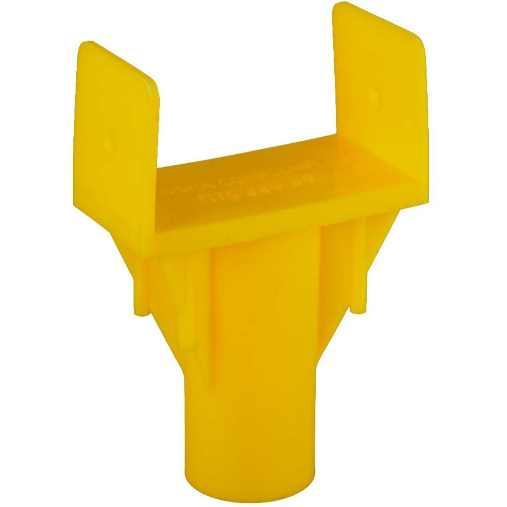 Rebar Cap Impalement Safety 25 Type Y Be super welcome Pack El Paso Mall Protection -