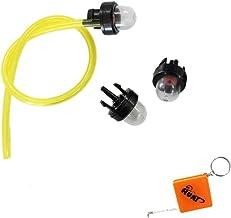 JOYKK 10 Pi/èces 17mm Carburateur Carb Primer Ampoule Bouchon Pompe /À Carburant pour Tondeuse /À Souffleuse Clair