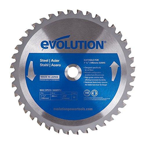 Evolution Power Tools 185BLADEST Steel Cutting Saw Blade, 7-1/4-Inch x...