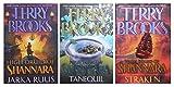 High Druid of Shannara Trilogy (3 Book) Hardcover Set includes: Jarka Ruus / Tanequil / Straken