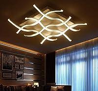 LXD シーリングライト、リモコン付きLEDシーリングライト、ロングクロス天井灯調光、バスルームには、ラウンジ、リビングルーム、ベッドルーム、キッチン、ホール、ダイニングルーム,6行