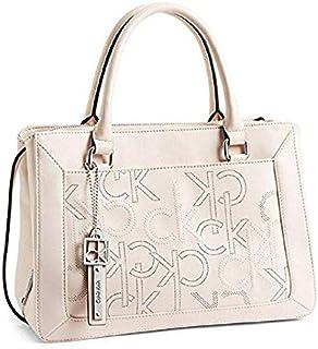 كالفن كلاين حقيبة للنساء-زهري فاتح - حقائب بتصميم الاحزمة