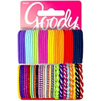 60-Piece Goody Girls Ouchless Hair Elastics Perfect for Girls w/Fine Hair