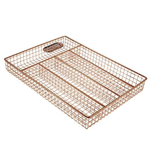 Apollo Housewares 7047 - Cubertería (cobre, 5 x 25 x 36 cm)