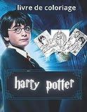 livre de coloriage harry potter: Cadeau plus de 30 pages pour votre enfants .