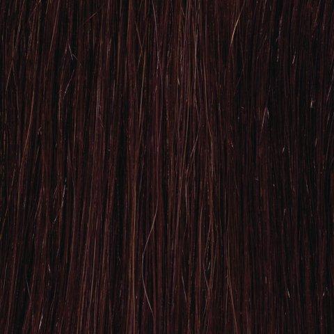 American Dream original de qualité 100% cheveux humains 25,4 cm soyeuse droite trame Couleur 2/33 – Brun Foncé/cuivre Riche