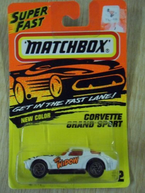 promociones de equipo Matchbox Corvette Grand Sport blanco The Widow  2 Die-Cast Die-Cast Die-Cast Coche by Tyco  marca famosa