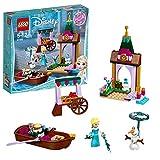 LEGO Disney Princess - Les aventures d'Elsa au marché - 41155 - Jeu de Construction