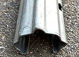 Poste galvanizado espaldera intermedio, medida 1.8...