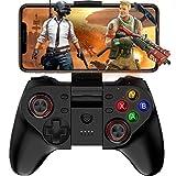 Aiyoudemutou Gamepad Mapeo de Teclas inalámbrico Gamepad Joystick Perfecto for PUBG y Fotnite y más, Controlador de Juego móvil Compatible for iOS y Android Controlador Gamepad